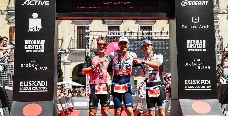 Podio Ironman Vitoria 2019